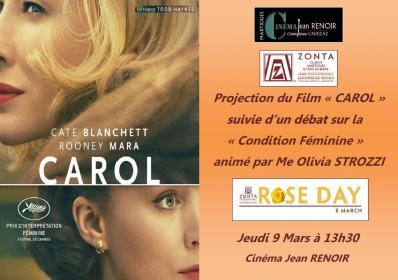 Affiche film carol pour le 8 mars 2018