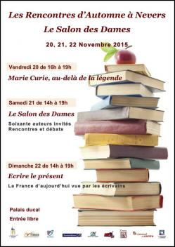 Affiche salon des dames nov 2015