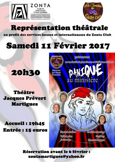Affiche theatre 2017 panique ministere