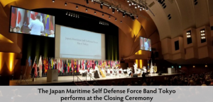 Cloture avec japan maritime self defense force band tokyo 1