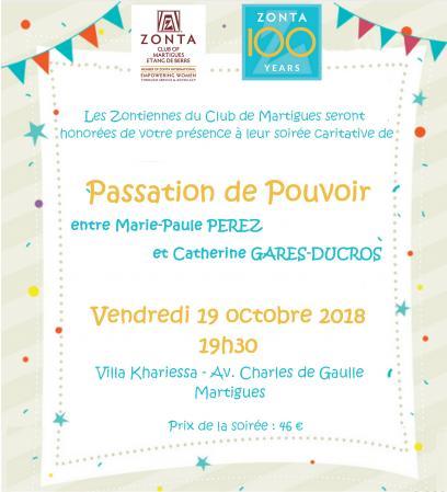 Fb invitation passation pouvoir 2018