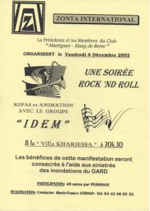 Soiree rockhroll 2002