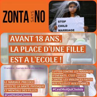 Zonta dit non aux mariages precoces 1200