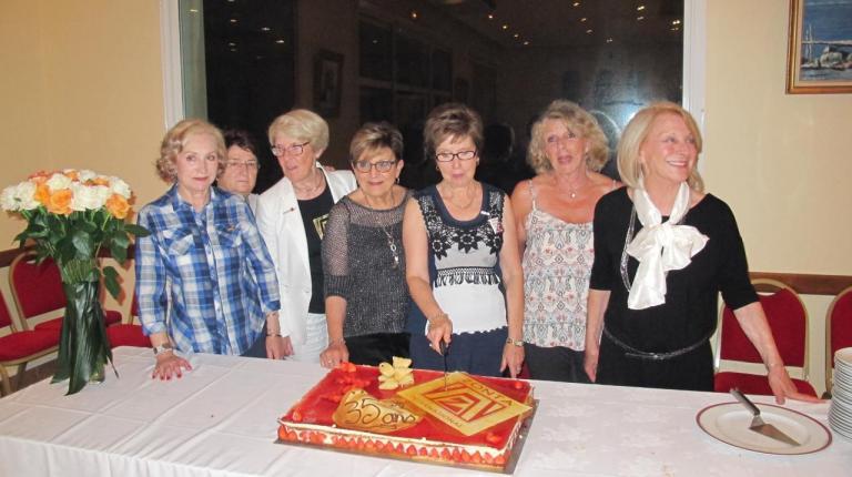 Gâteau 35 ans du club
